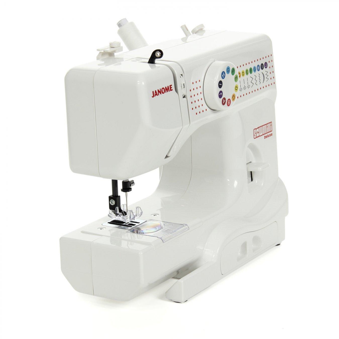 Macchina per cucire janome sew mini deluxe dx 2 gnoato lino for Mini macchina per cucire